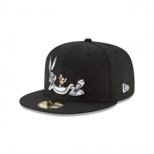NEW ERA CAP LOONEY TUNES COLLECTION BUGS BUNNY CARROT LOONEY TUNES 59FIFTY FITTED Sales