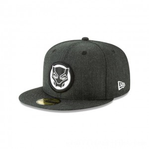 NEW ERA CAP ENTERTAINMENT COLLECTION BLACK PANTHER BADGE 59FIFTY FITTED Sales