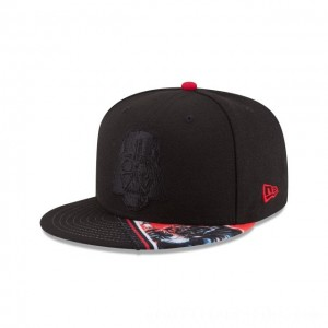 NEW ERA CAP ENTERTAINMENT COLLECTION STAR WARS DARTH VADER VIVID VISOR 9FIFTY SNAPBACK Sales