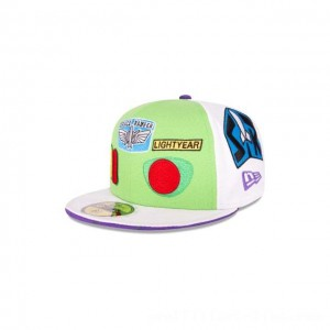 NEW ERA CAP ENTERTAINMENT COLLECTION BUZZ LIGHTYEAR TOY STORY KIDS 59FIFTY FITTED Sales