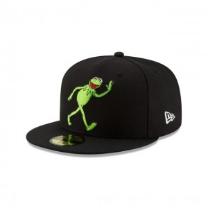 Black Friday 2020 NEW ERA CAP ENTERTAINMENT COLLECTION KERMIT MUPPETS  59FIFTY FITTED Sales