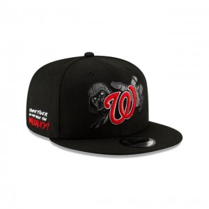 NEW ERA CAP MLB x STAR WARS COLLECTION WASHINGTON NATIONALS DARTH VADER 9FIFTY SNAPBACK Sales