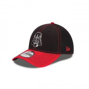NEW ERA CAP ENTERTAINMENT COLLECTION STAR WARS DARTH VADER TWO TONE NEO 39THIRTY STRETCH FIT Sales