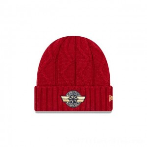 Black Friday 2020 NEW ERA CAP ENTERTAINMENT COLLECTION CAPTAIN MARVEL WOMENS CABLE CUFF KNIT Sales