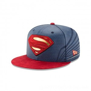 NEW ERA CAP ENTERTAINMENT COLLECTION SUPERMAN JUSTICE LEAGUE 59FIFTY FITTED Sales