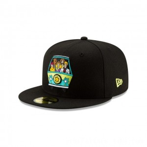 NEW ERA CAP ENTERTAINMENT COLLECTION MYSTERY MACHINE DRIVING SCOOBY-DOO 59FIFTY FITTED Sales