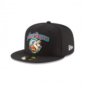 NEW ERA CAP ENTERTAINMENT COLLECTION ANGRY BEAVERS NICKELODEON 59FIFTY FITTED Sales