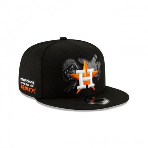 NEW ERA CAP MLB x STAR WARS COLLECTION HOUSTON ASTROS DARTH VADER 9FIFTY SNAPBACK Sales