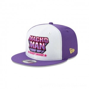 NEW ERA CAP WORLD WRESTLING ENTERTAINMENT MACHO MAN RANDY SAVAGE WWE 9FIFTY SNAPBACK Sales