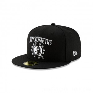 NEW ERA CAP BRUCE LEE COLLECTION BRUCE LEE BLACK 59FIFTY FITTED Sales