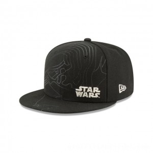 NEW ERA CAP ENTERTAINMENT COLLECTION KYLO REN STAR WARS THE LAST JEDI 9FIFTY SNAPBACK Sales