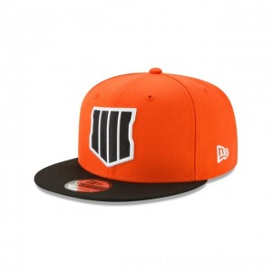 NEW ERA CAP ENTERTAINMENT COLLECTION CALL OF DUTY: BLACK OPS 4 ORANGE 9FIFTY SNAPBACK Sales