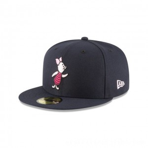 NEW ERA CAP WINNIE THE POOH COLLECTION PIGLET WINNIE THE POOH NAVY 59FIFTY FITTED Sales
