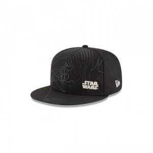 NEW ERA CAP ENTERTAINMENT COLLECTION KIDS KYLO REN STAR WARS THE LAST JEDI 9FIFTY SNAPBACK Sales