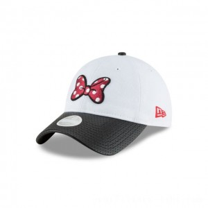 NEW ERA CAP ENTERTAINMENT COLLECTION MINNIE ROCKIN MY DOTS RED BOW 9TWENTY ADJUSTABLE Sales