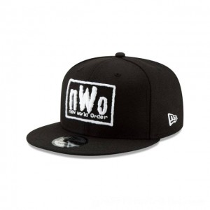 NEW ERA CAP WORLD WRESTLING ENTERTAINMENT NEW WORLD ORDER WWE 9FIFTY SNAPBACK Sales