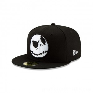 NEW ERA CAP NIGHTMARE BEFORE CHRISTMAS COLLECTION JACK FACE NIGHTMARE BEFORE CHRISTMAS 59FIFTY FITTED Sales