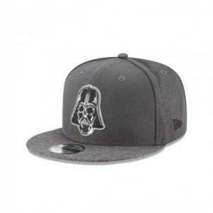 NEW ERA CAP ENTERTAINMENT COLLECTION STAR WARS DARTH VADER PERFORATED 9FIFTY SNAPBACK Sales