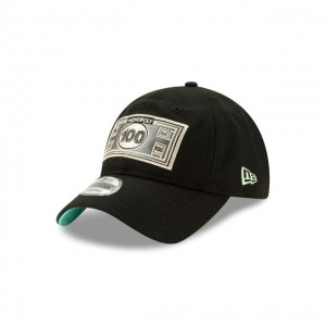 NEW ERA CAP MONOPOLY COLLECTION MONOPOLY 100 DOLLAR BILL 9TWENTY ADJUSTABLE Sales
