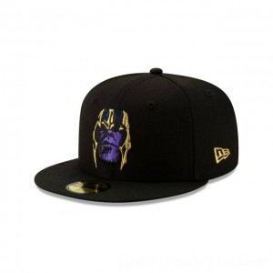 NEW ERA CAP ENTERTAINMENT COLLECTION AVENGERS ENDGAME THANOS 59FIFTY FITTED Sales