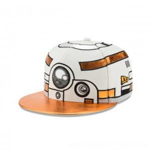 NEW ERA CAP ENTERTAINMENT COLLECTION BB-8 STAR WARS THE LAST JEDI 59FIFTY FITTED Sales