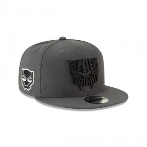 NEW ERA CAP ENTERTAINMENT COLLECTION BLACK PANTHER SYMBOL 9FIFTY SNAPBACK Sales