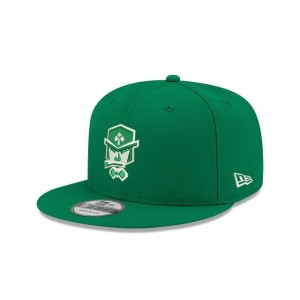 NEW ERA CAP NBA 2K LEAGUE CELTICS CROSSOVER GAMING NBA 2K LEAGUE 9FIFTY SNAPBACK Sales