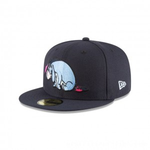 NEW ERA CAP WINNIE THE POOH COLLECTION EEYORE WINNIE THE POOH NAVY 59FIFTY FITTED Sales