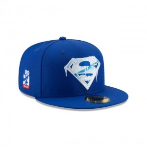 NEW ERA CAP SUPERMAN 80TH ANNIVERSARY SUPERMAN FREEZE 59FIFTY FITTED Sales