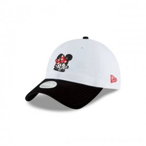 NEW ERA CAP ENTERTAINMENT COLLECTION MINNIE ROCKIN MY DOTS WOMENS WHITE 9TWENTY ADJUSTABLE Sales