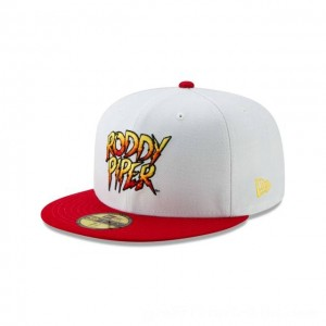 NEW ERA CAP WORLD WRESTLING ENTERTAINMENT ROWDY RODDY PIPER WWE 59FIFTY FITTED Sales