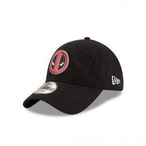 NEW ERA CAP ENTERTAINMENT COLLECTION DEADPOOL 9TWENTY ADJUSTABLE Sales