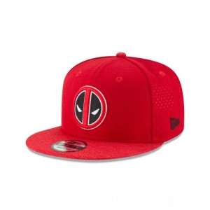 NEW ERA CAP ENTERTAINMENT COLLECTION DEADPOOL PERFORATED 9FIFTY SNAPBACK Sales