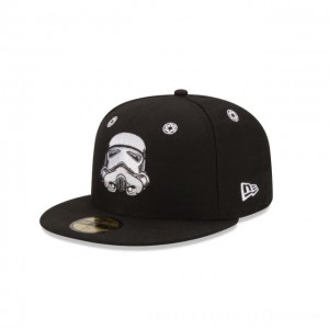 NEW ERA CAP ENTERTAINMENT COLLECTION STAR WARS STORM TROOPER STARGAZER 59FIFTY FITTED Sales