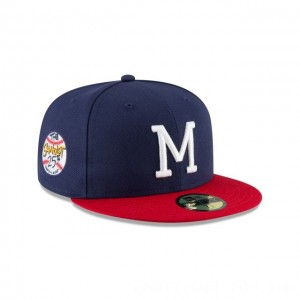 NEW ERA CAP SANDLOT 25TH ANNIVERSARY COLLECTION MILWAUKEE BRAVES SANDLOT 25TH ANNIVERSARY 59FIFTY FITTED Sales