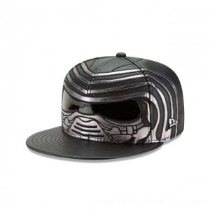 NEW ERA CAP ENTERTAINMENT COLLECTION KYLO REN STAR WARS THE LAST JEDI 59FIFTY FITTED Sales