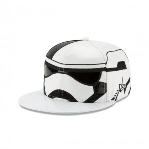 NEW ERA CAP ENTERTAINMENT COLLECTION STORM TROOPER STAR WARS THE LAST JEDI 59FIFTY FITTED Sales