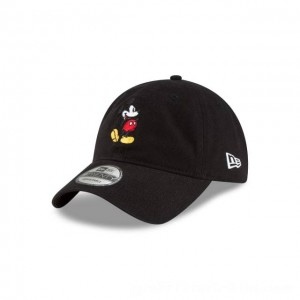NEW ERA CAP MICKEY MOUSE COLLECTION MICKEY MOUSE BLACK 9TWENTY ADJUSTABLE Sales