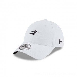 NEW ERA CAP BRUCE LEE COLLECTION BRUCE LEE WHITE 9FORTY ADJUSTABLE Sales