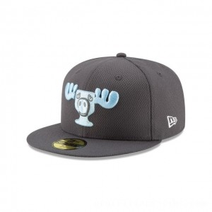 NEW ERA CAP HOLIDAY COLLECTION CHRISTMAS VACATION MOOSE MUG GREY 59FIFTY FITTED Sales
