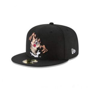 Black Friday 2020 NEW ERA CAP LOONEY TUNES COLLECTION TAZMANIAN DEVIL TWISTER LOONEY TUNES 59FIFTY FITTED Sales