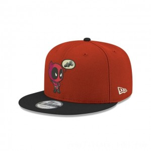 NEW ERA CAP ENTERTAINMENT COLLECTION DEADPOOL SCARLET 9FIFTY SNAPBACK Sales