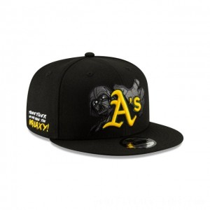 NEW ERA CAP MLB x STAR WARS COLLECTION OAKLAND ATHLETICS DARTH VADER 9FIFTY SNAPBACK Sales