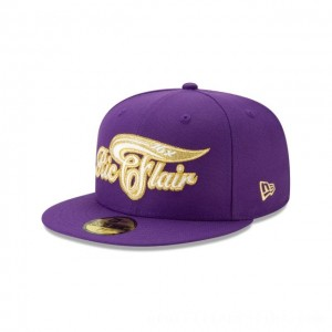 NEW ERA CAP WORLD WRESTLING ENTERTAINMENT RIC FLAIR PURPLE WWE 59FIFTY FITTED Sales