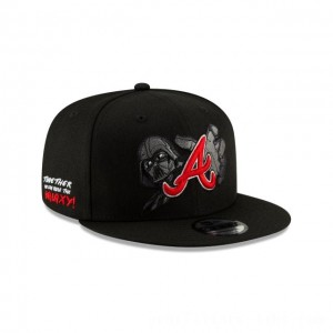 NEW ERA CAP MLB x STAR WARS COLLECTION ATLANTA BRAVES DARTH VADER 9FIFTY SNAPBACK Sales