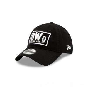 NEW ERA CAP WORLD WRESTLING ENTERTAINMENT NEW WORLD ORDER WWE 9TWENTY ADJUSTABLE Sales