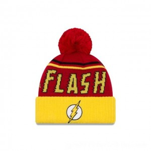 NEW ERA CAP ENTERTAINMENT COLLECTION FLASH JUMBO CHEER KNIT Sales