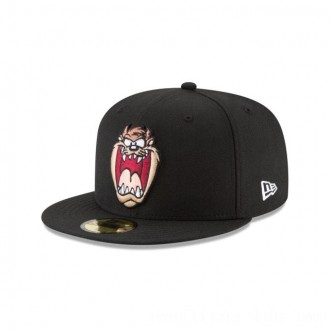 NEW ERA CAP LOONEY TUNES COLLECTION TAZMANIAN DEVIL FACE LOONEY TUNES 59FIFTY FITTED Sales