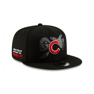 NEW ERA CAP MLB x STAR WARS COLLECTION CHICAGO CUBS DARTH VADER 9FIFTY SNAPBACK Sales