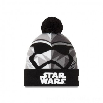 Black Friday 2020 NEW ERA CAP ENTERTAINMENT COLLECTION STORM TROOPER STAR WARS THE LAST JEDI KNIT CAP Sales